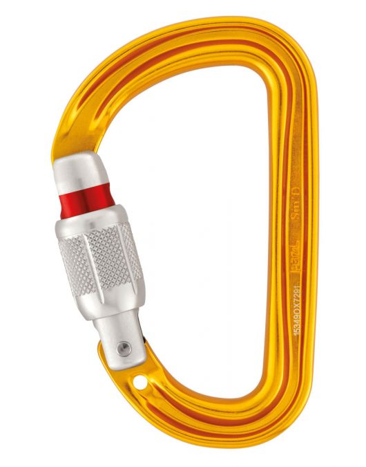 Carabiniera Petzl Sm D Screw Lock