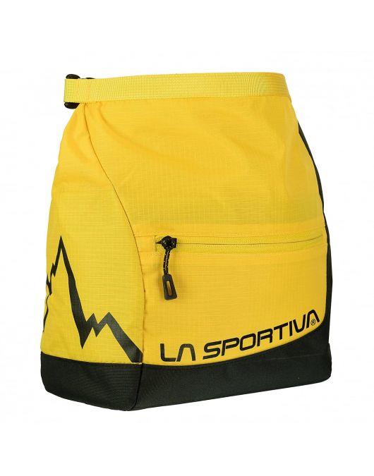 Geanta de magneziu LaSportiva Boulder Chalk Bag Yellow