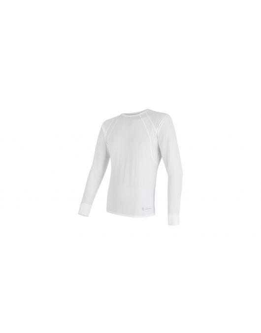 SENSOR COOLMAX AIR tricou maneca lunga barbati(alb)