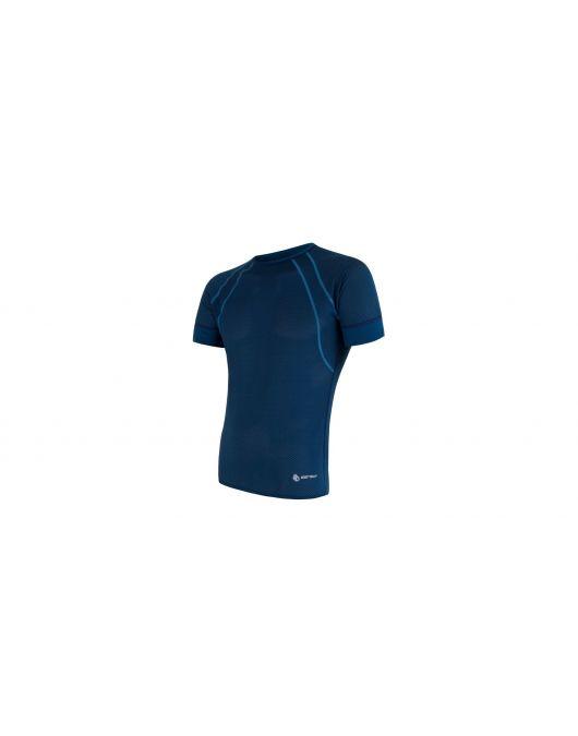 SENSOR COOLMAX AIR  tricou maneca scurta barbati(albastru inchis)