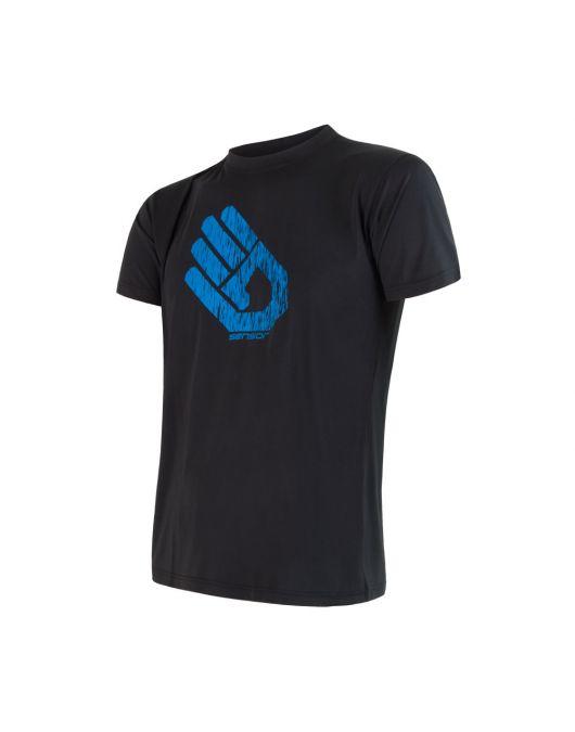 SENSOR COOLMAX FRESH PT HAND tricou maneca scurta barbati(negru)