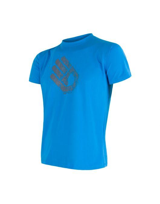 SENSOR COOLMAX FRESH PT HAND tricou maneca scurta barbati(albastru)