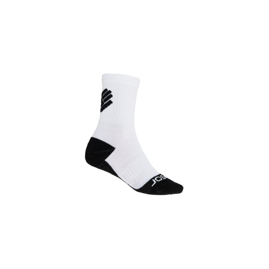 Ciorapi merino pt ture, hiking, ciclism, alergare, SENSOR RACE MERINO uni (alb)