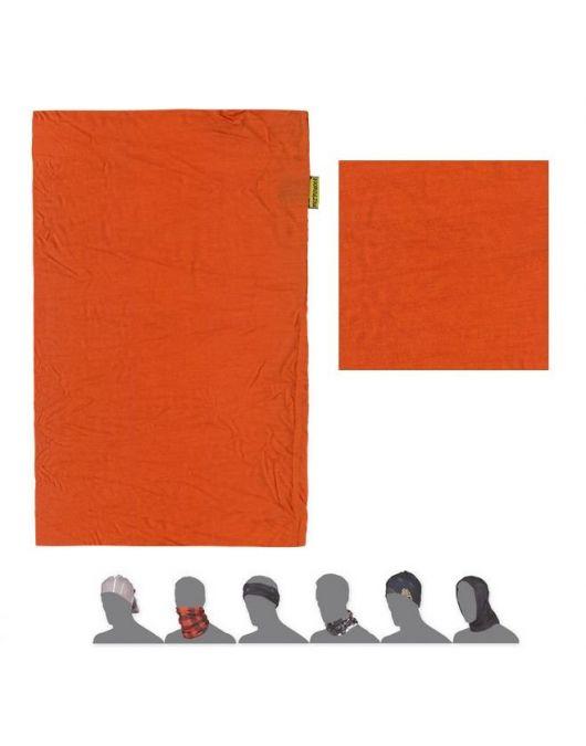SENSOR MERINO AIR bandana UNI (burnt orange)