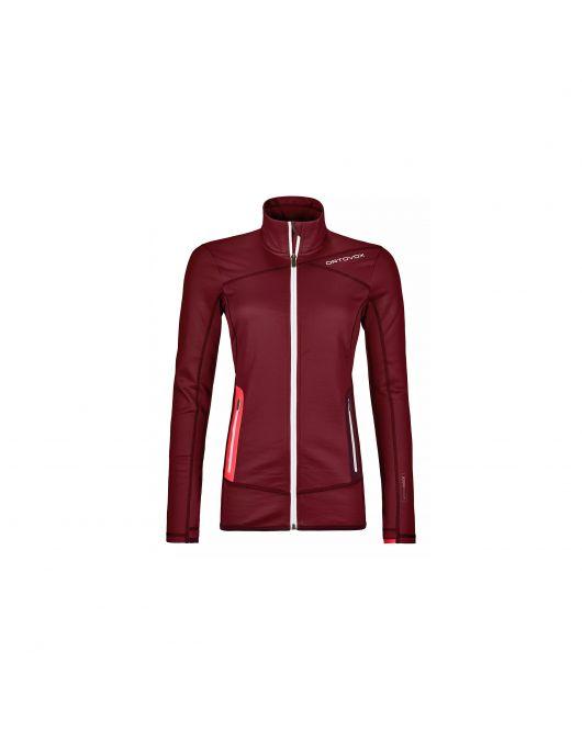Bluza pt activitati alpine Ortovox Merino Fleece Jacket Femei