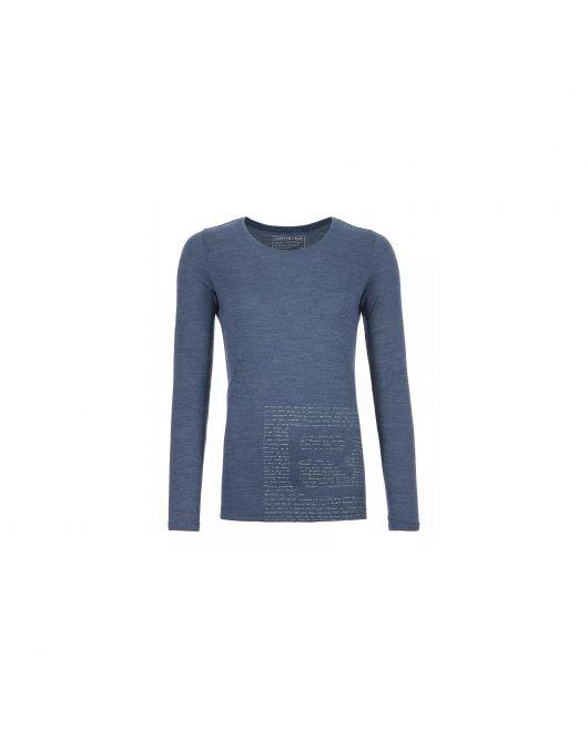 Bluza de corp Ortovox  Merino Femei 185 Logo Long Sleeve