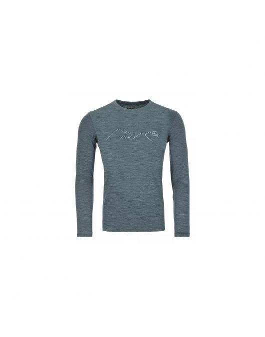 Bluza de corp Ortovox 185 Merino Mountain barbati