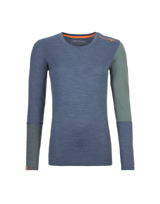 Bluza de corp femei Ortovox 185 Merino Rock N Wool