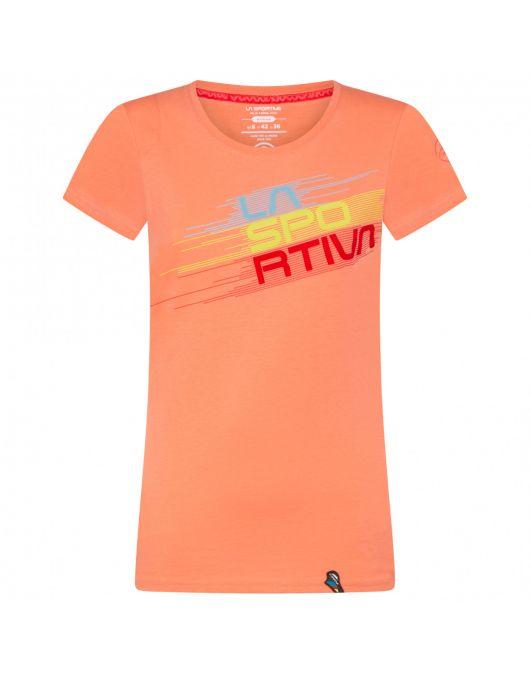 Tricou Femei LaSportiva Climbing Stripe Evo T-Shirt W