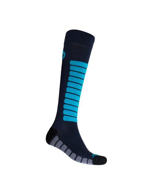 SENSOR ZERO MERINO ciorapi UNI (gri/albastru)