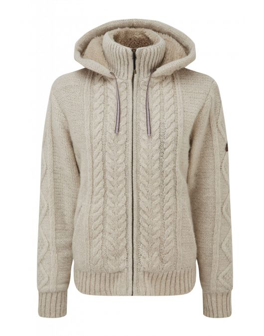 Sherpa Kirtipur Cable-Knit Pulover izolat-outdoor femei