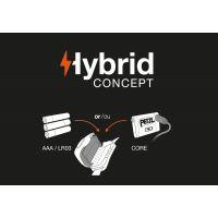 Lanterna frontala Petzl Actik Core Hybrid 450