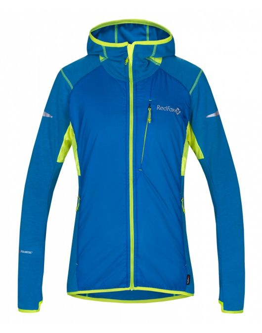 Jacheta pentru alergare montana RedFox Alpha Hybrid Femei
