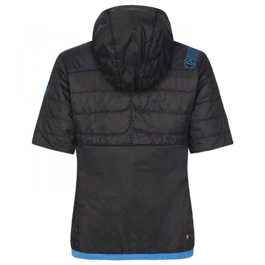 Jacheta cu maneca scurta LaSportiva Glow Short Sleeve Jkt femei Black