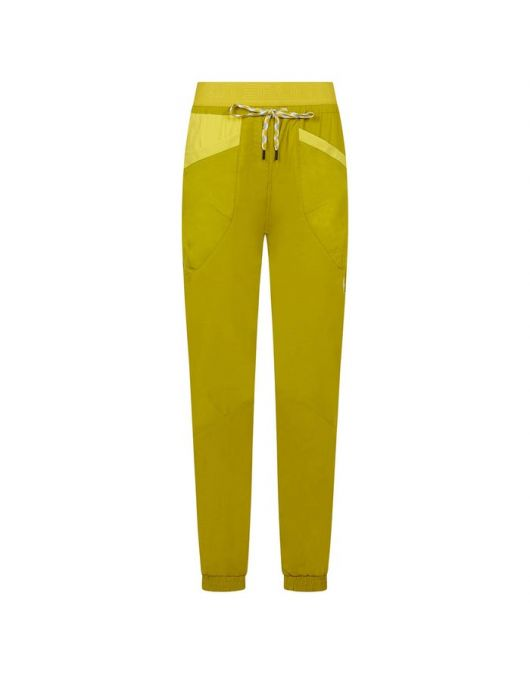 Pantaloni pt escalada, LaSportiva Climbing Mantra Pant femei Kiwi/Celery