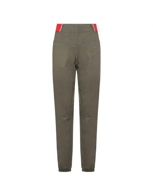 Pantaloni pt escalada, LaSportiva Climbing Tundra Pant femei Clay/Hibiscus